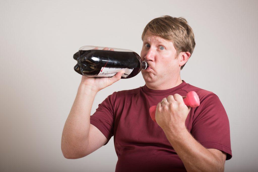 太っている人の水分量
