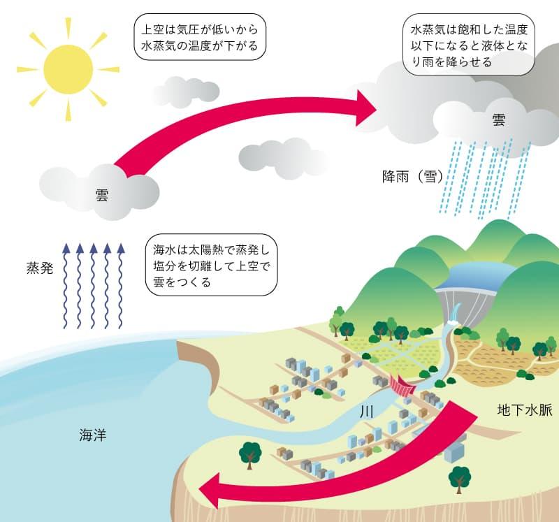 水の循環作用