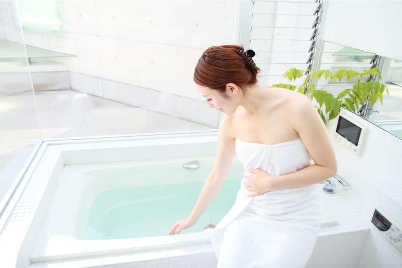 お風呂でも快適なセントラル浄水器